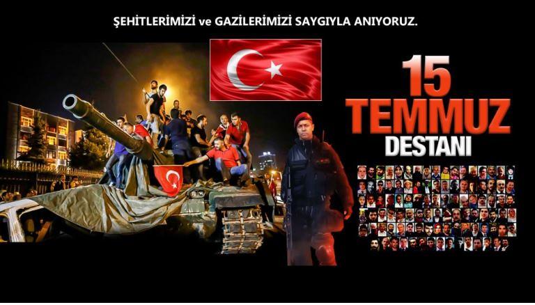 'Millet yenilmez Türkiye geçilmez'