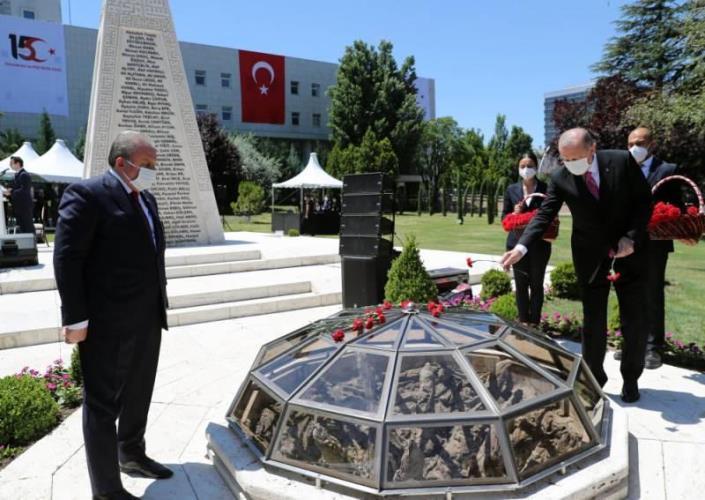 Cumhurbaşkanı Erdoğan Gazi Mecliste